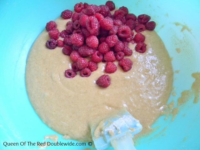 Raspberry Muffins 2