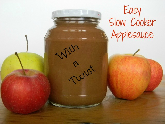 Easy Slow Cooker Applesauce
