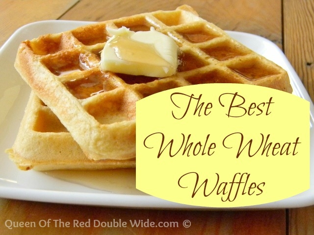 The Best Whole Wheat Waffles