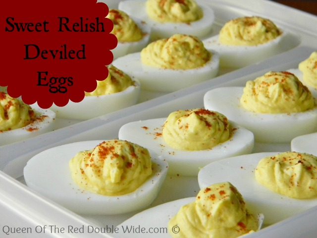 Sweet Relish Deviled Eggs