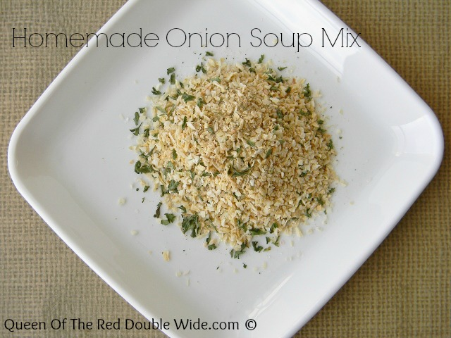 Homemade Onion Soup Mix 1