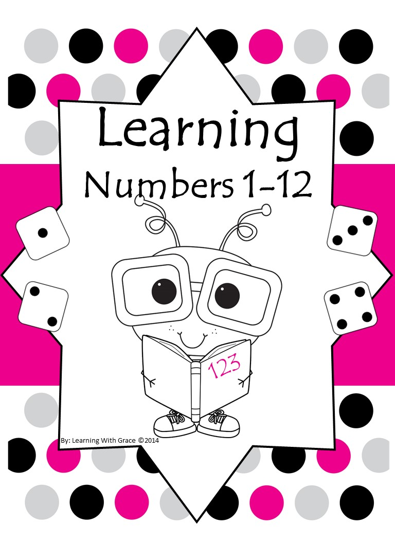 Preview Learning Numbers 1 to 12