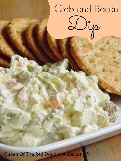 Crab and bacon dip