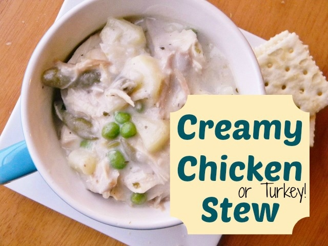 Creamy Chicken Stew