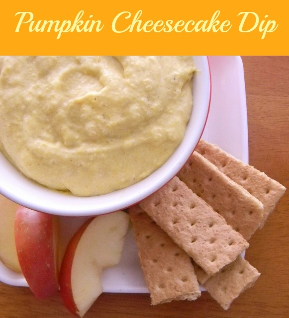 Pumpkin Chesecake Dip
