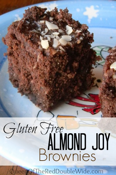 Gluten Free Almond Joy Brownies
